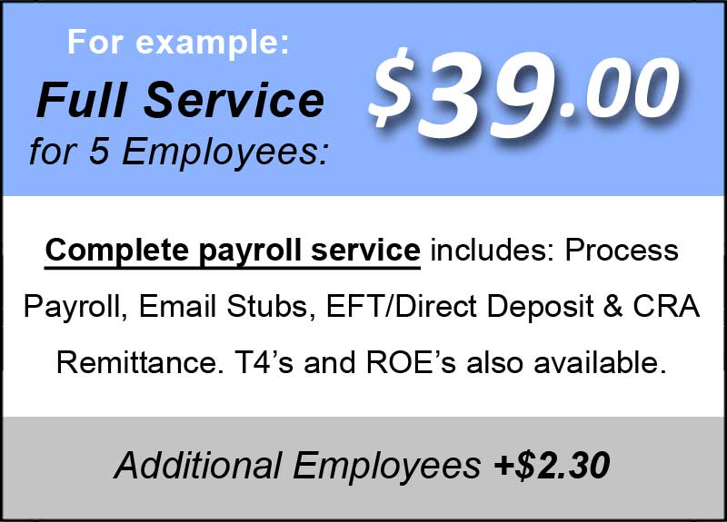 Full Payroll Service Canada