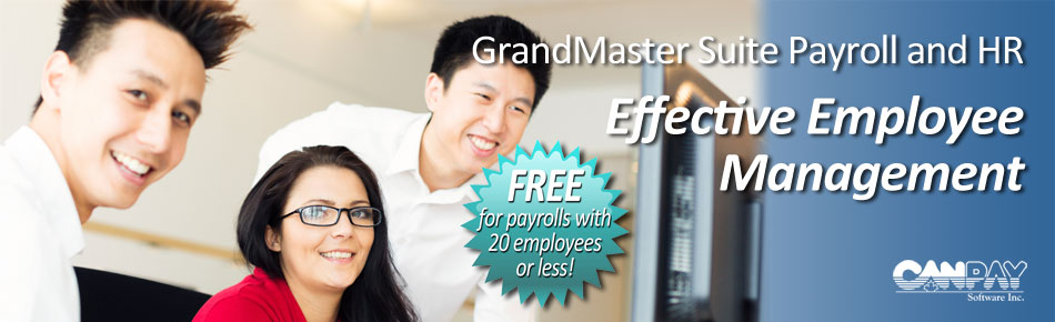 Free Canadian Payroll Software