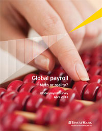 Global Payroll Survey 2013 - Ernst and Young
